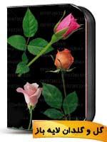 گل گلدان لایه باز