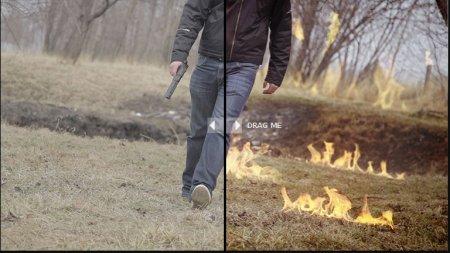کروماکی شعله آتش