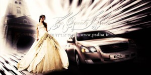 فوتو لایهباز دکور عروس