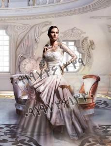 بک گراند وایت روم برای عروس